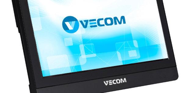 "Моноблок Vecom 21.5"" P2105 FHD i3-7100/4G/500Gb/DVDRW/CR/WiFi/Cam/W10Pro64/black"