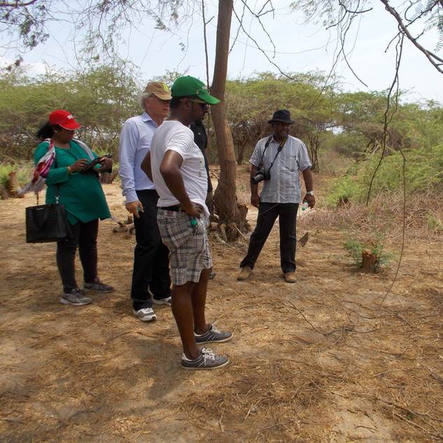 Fort Geldria Site visit