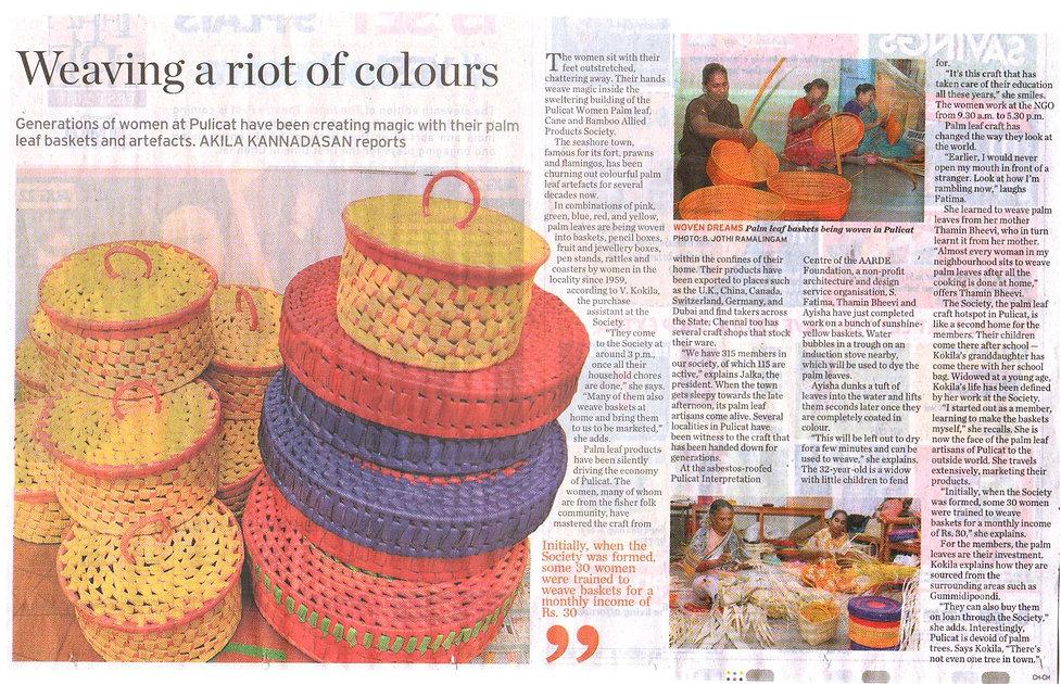 The Hindu newspaper Article