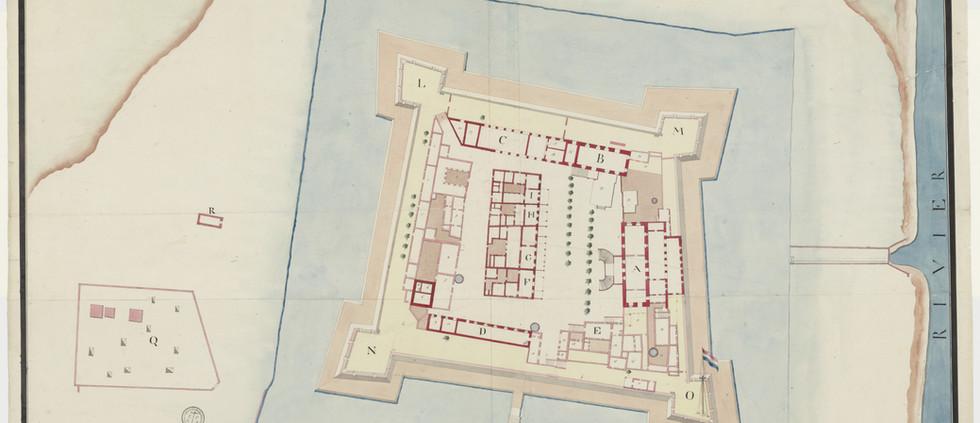 Plan of Pulicat Fort