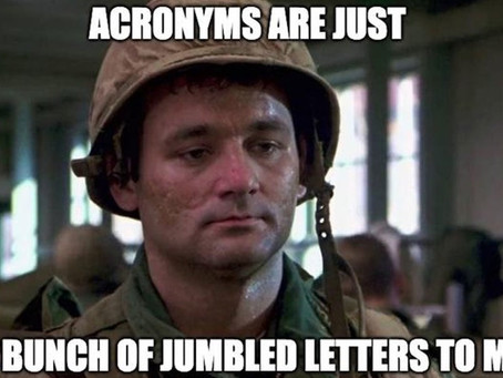 Military Definitions, Terms, and Acronyms