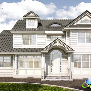 3D Rendered Home