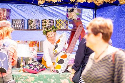 Cross Hills Fair stall holder