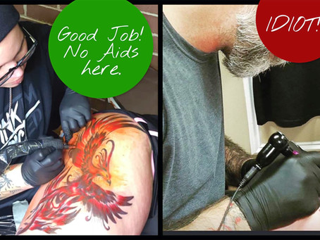Signs to look for in a dangerous Tattoo Shop