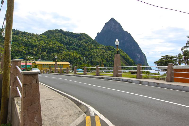 Soufriere River Bridge -St Lucia