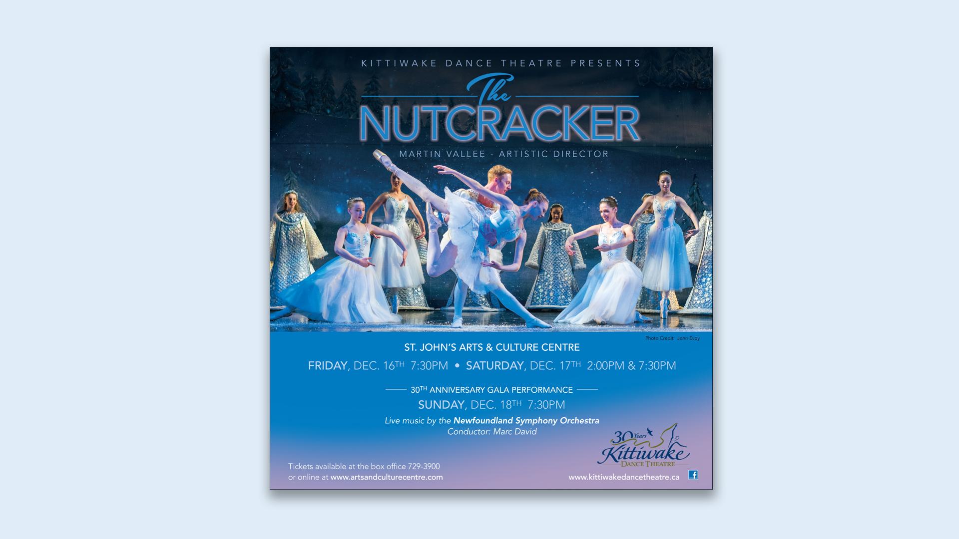Kittiwake Nutcracker Poster