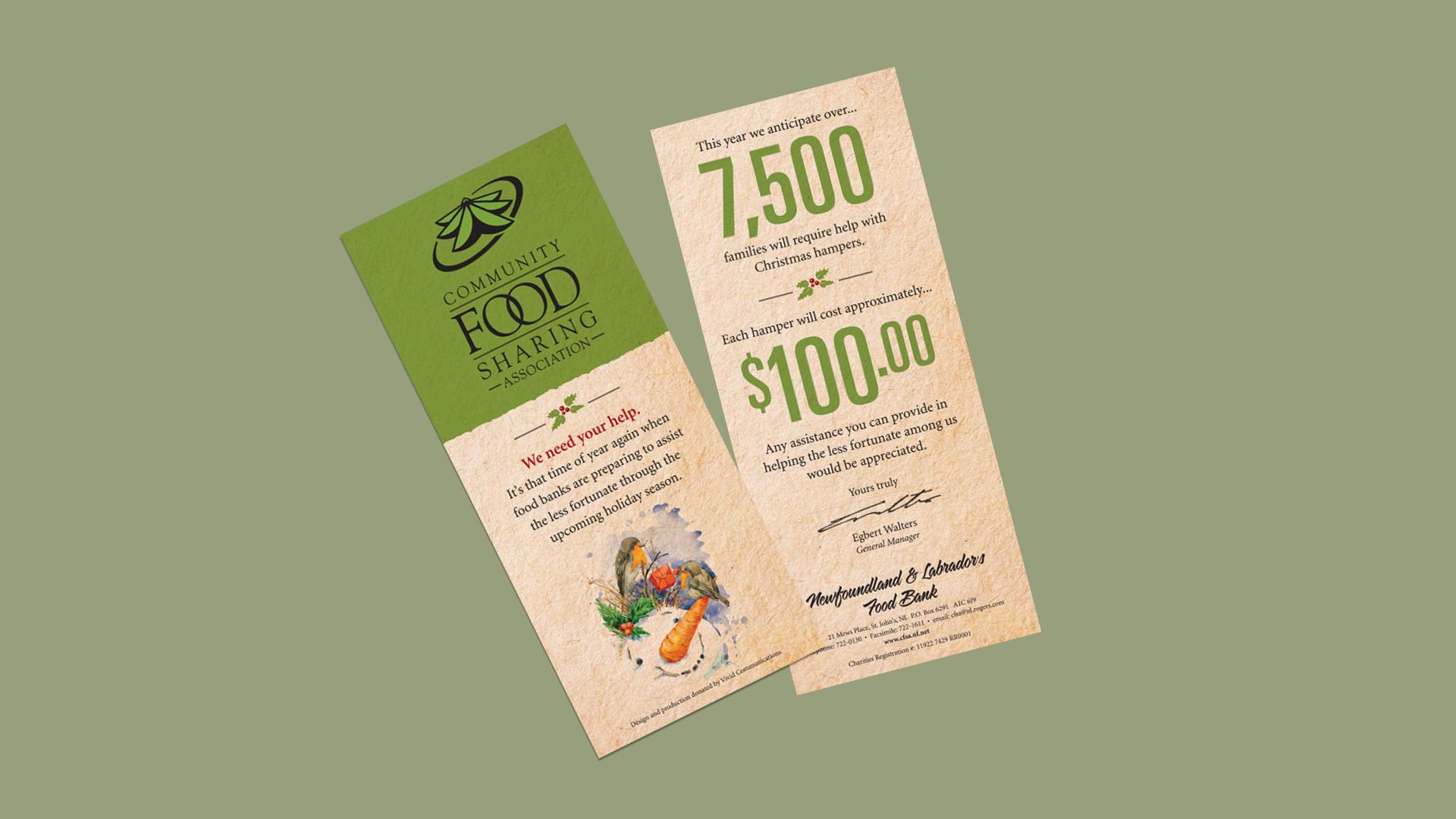 Community Food Sharing Card