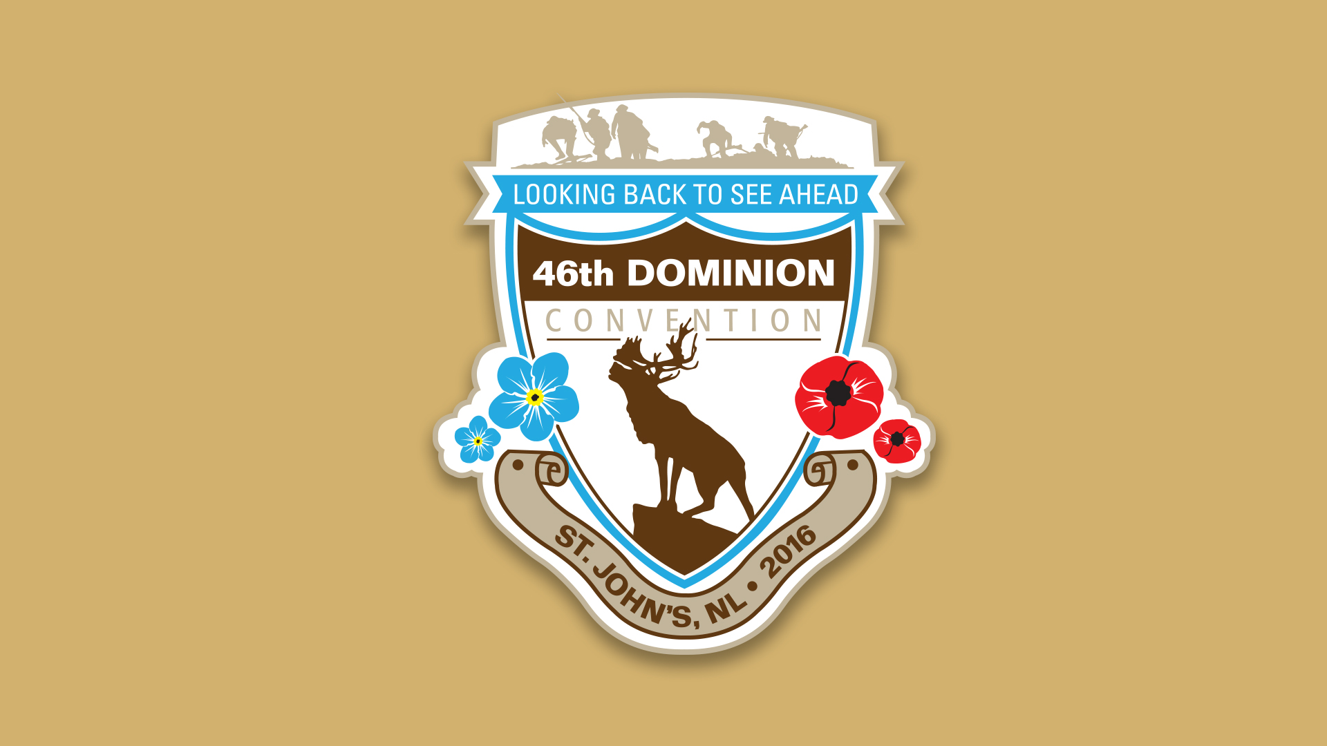 46 Dominion Convention Crest