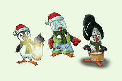 Puffin Illustrations