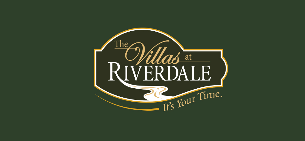 Villas at Riverdale Logo Design