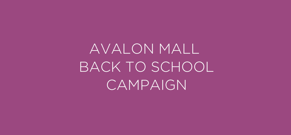 Avalon Mall Back to School