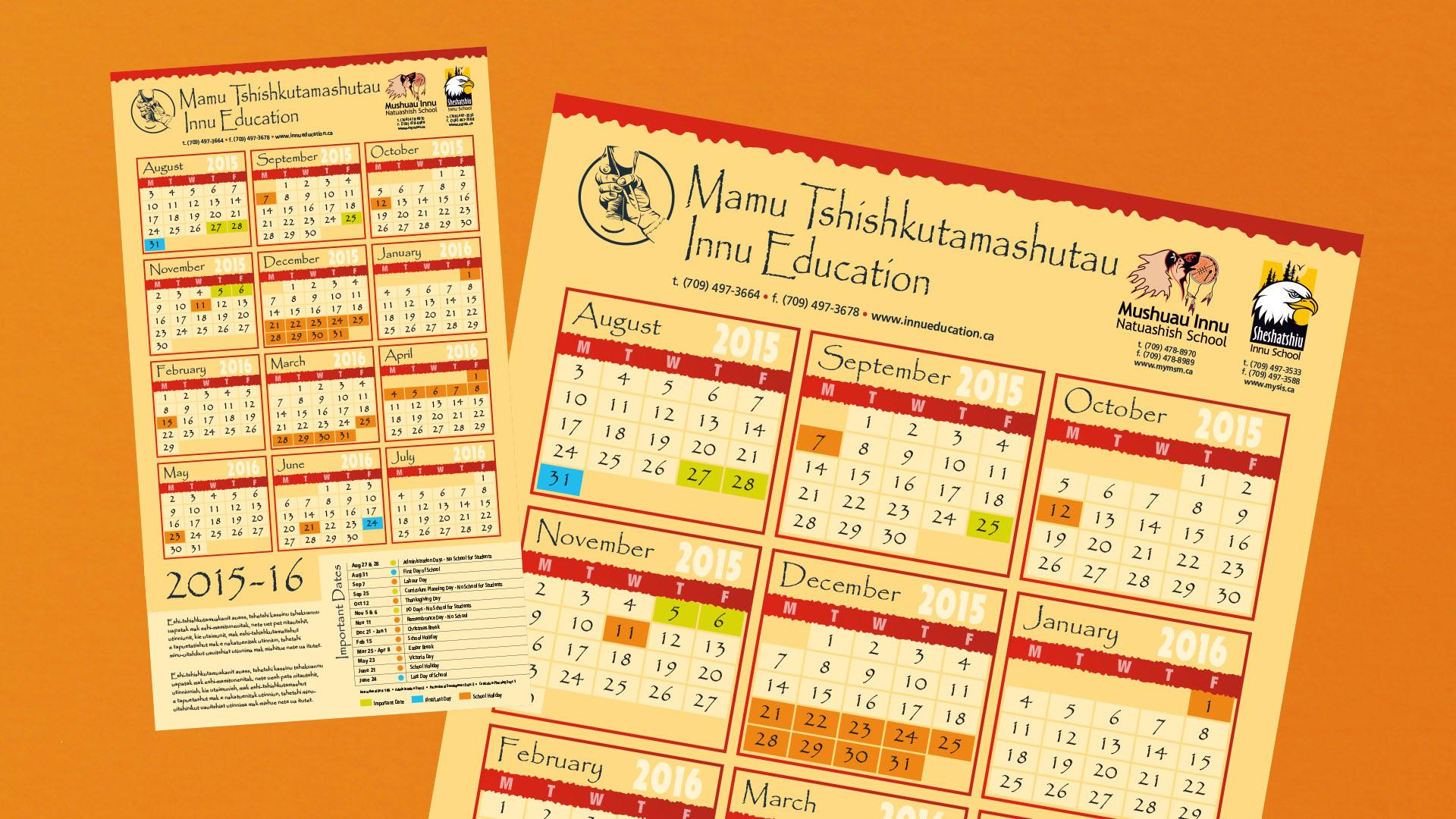 Mamu Tshishkutamashutau Calendar