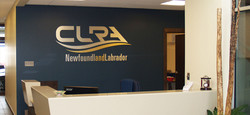 CLRA Reception Sign