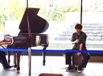 ピアノとカホン
