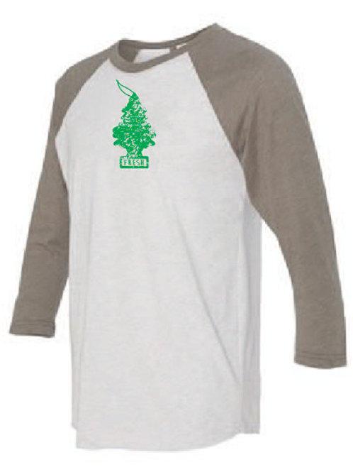 This is My Camping Shirt - Raglan Tan