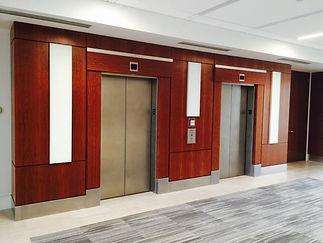 commercial glass elevator door hardware