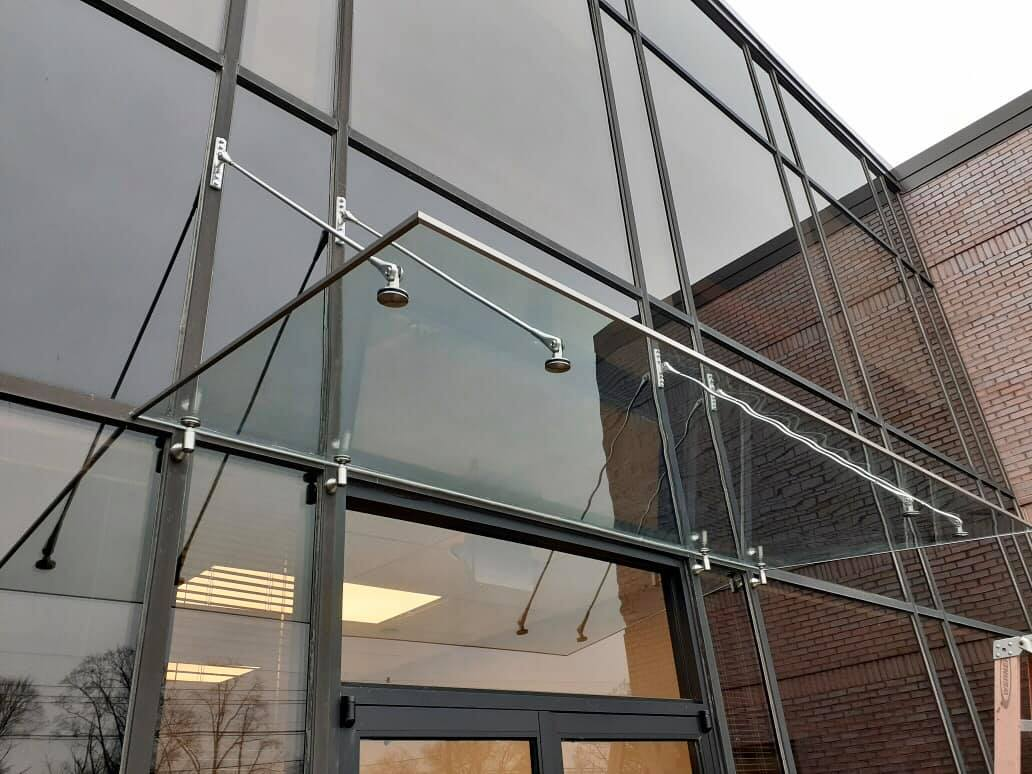 commercial building glass normans nj alu