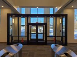 normans black aluminum glass doors and e