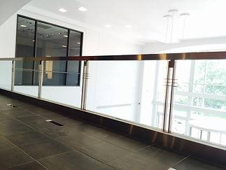 commercial nj glass railing normans glas