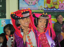 Tradition Lisu costumes