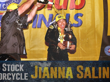Jianna Salinas Grabs Her First Career Win in Pomona
