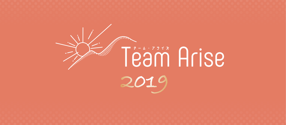 Team Arise 2019年の目標と新年のご挨拶