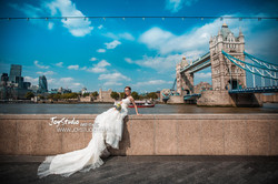英国婚纱摄影London prewedding photography