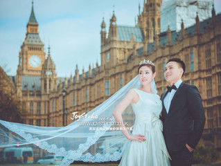 4月初的伦敦婚纱照拍摄分享