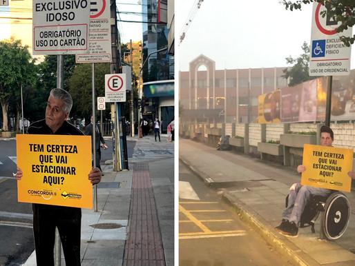 Vereador André Meirinho sugere ações educativas para vagas prioritárias de estacionamento
