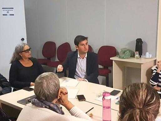 Vereador André Meirinho apresenta leis ao conselho Municipal de Política Cultural