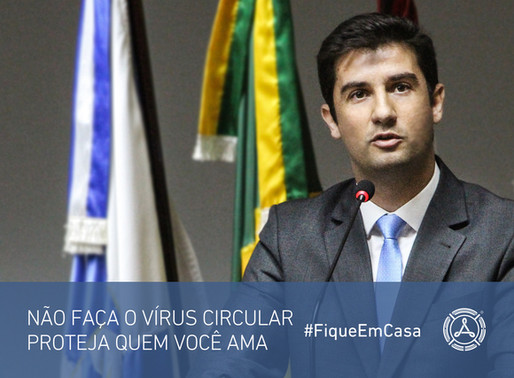 Vereador André Meirinho propõe medidas para amenizar os impactos econômicos do Coronavírus