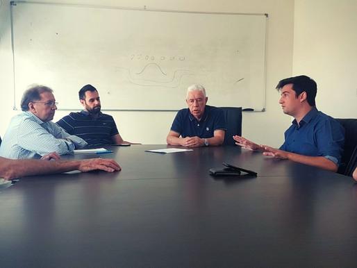 Vereador André Meirinho visita a Secretaria de Turismo e propõe ações para a cidade