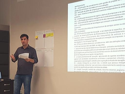 Vereador André Meirinho apresenta Projeto de Lei no Programa de Competitividade e Inovação Regional