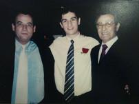 André_meirinho_com_seu_pai_Carlos_Alber