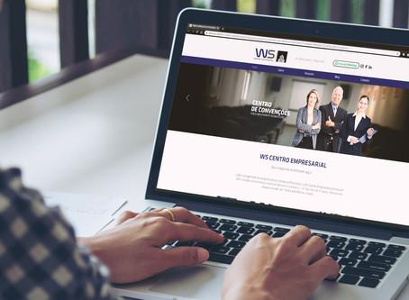 Novo site do WS Centro Empresarial