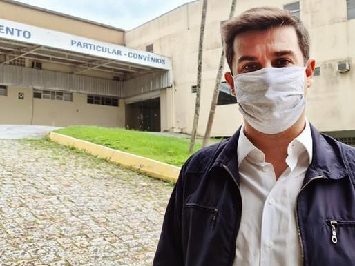 Vereador André Meirinho perseverante por novos leitos de UTI no Santa Inês