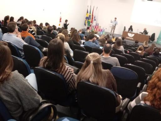 Vereador André Meirinho participa do IV Simpósio de Ciência e Tecnologia Ambiental na Univali