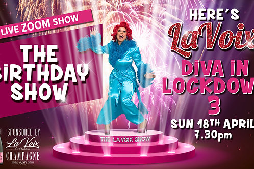 Virtual Show -The Birthday Edition 18th April