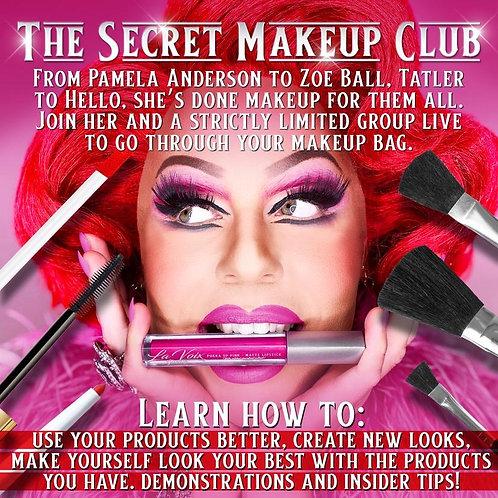 The Secret Make Up Club! Sunday 6th Sept!