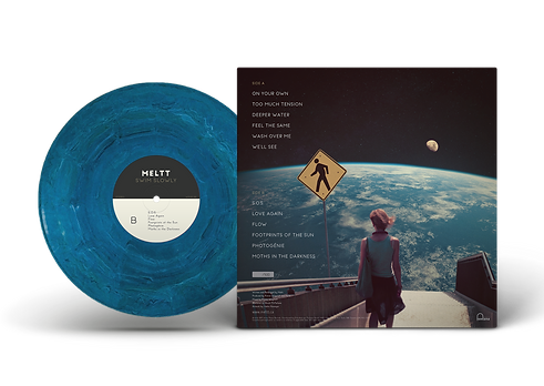 Vinyl Record PSD MockUp B SIDE Clear BG.