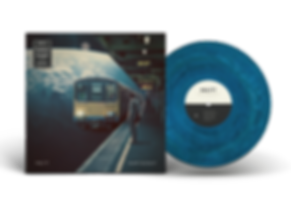 Vinyl Record PSD MockUp A SIDE Clear BG.