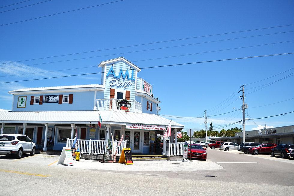 Anna Maria Island plaza