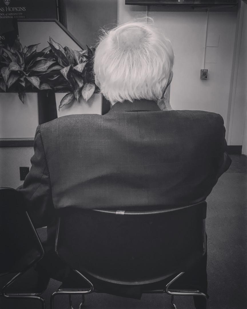 Portrait of Bernie Sanders