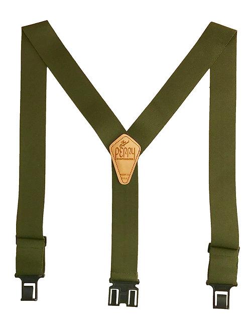 Original Perry Suspenders - Olive Drab Green