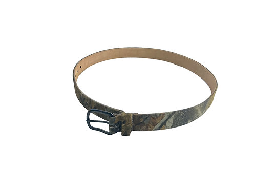 Leather Back Belts - Realtree Hardwood 48""