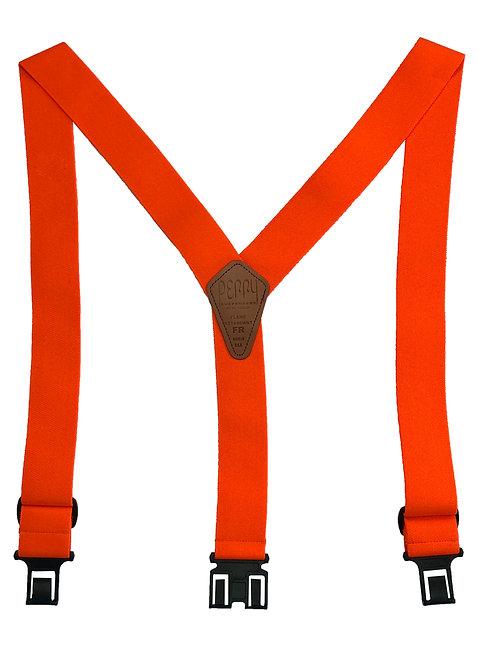 Flame Retardant Perry Suspenders - Orange
