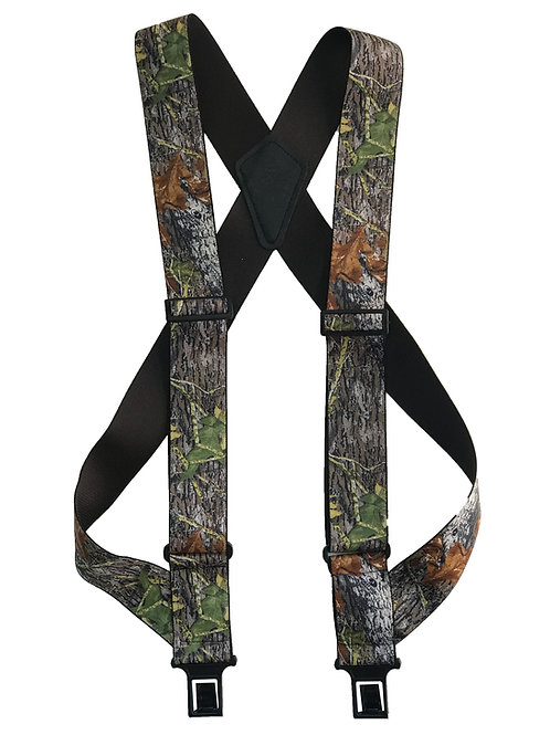 uBEE Perry Suspenders - Mossy Oak Break-up