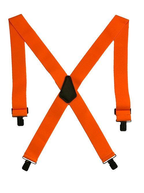 Clip-on Suspenders - Orange