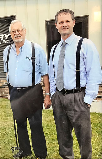 The owners and Inventors of the Perry Suspenderd