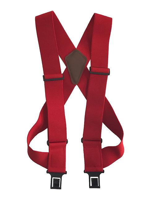 uBEE Perry Suspenders - Red